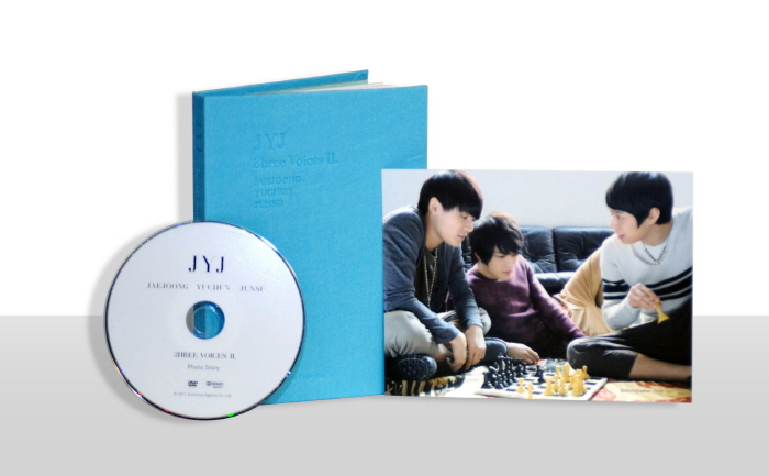 [JYJ] Photo Story DVD (Jay and Now 3HREE VOICES II)